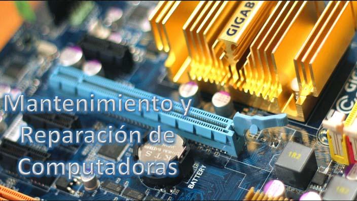 Mantenimiento y Reparación de Computadoras desde Cero