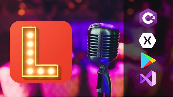 App para karaokes en Xamarin Forms