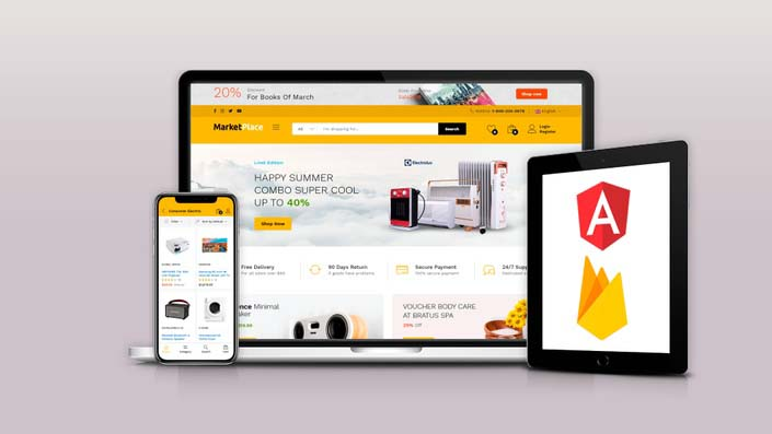 Crea Sistemas Marketplace con Angular y Firebase Database