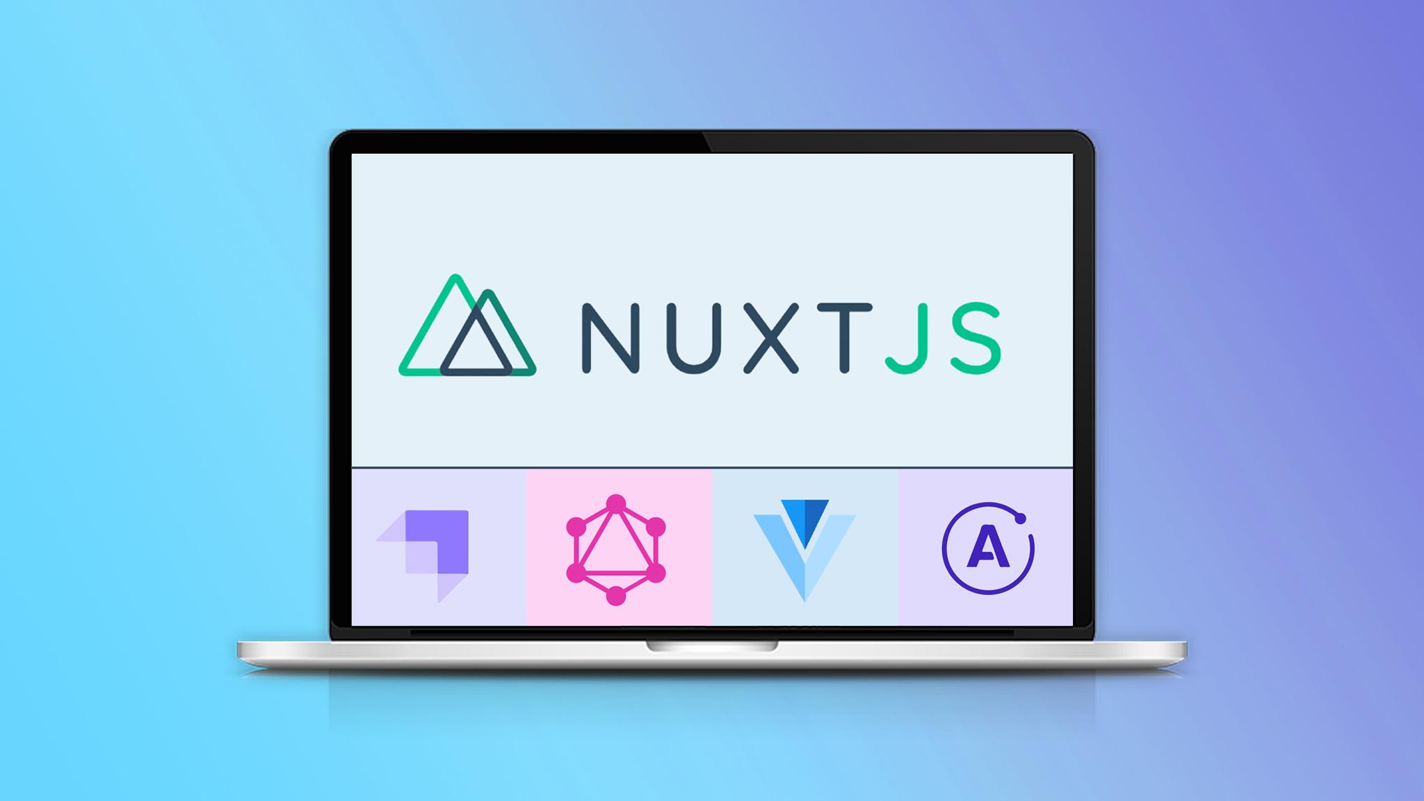 Nuxt.js - Framework de Vue.js con Strapi GraphQL
