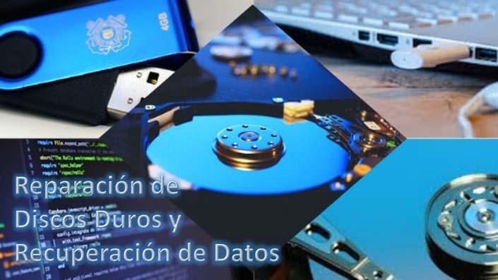 Reparación de Discos Duros y Recuperación de Datos