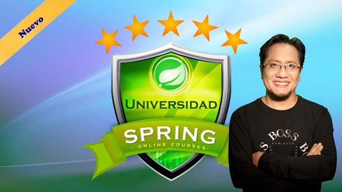 Universidad Spring: Aprende Spring Framework y Spring Boot